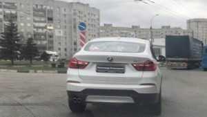 Именной BMW Александра Большунова заметили в Брянске