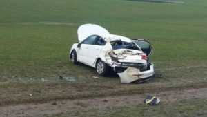 Под Унечей перевернулась иномарка – погибла 52-летняя пассажирка
