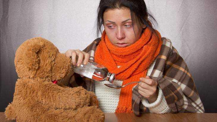 В Брянске резко повысилась заболеваемость гриппом и ОРВИ