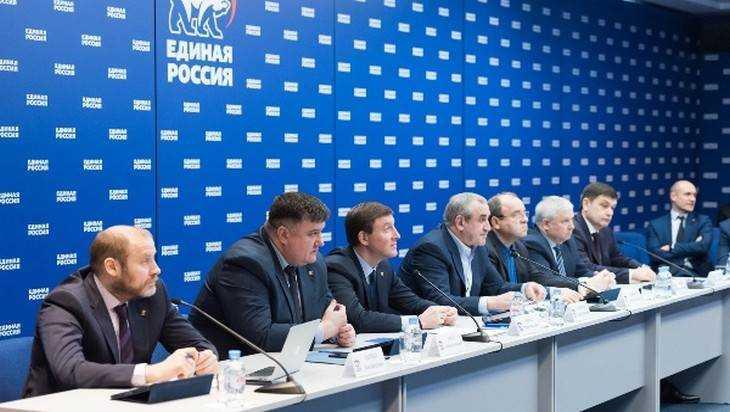 В ЦИК «Единой России» прошло первое заседание обновленного совета руководителей