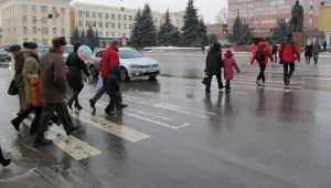 В центре Брянска власти решили убрать 4 пешеходных перехода