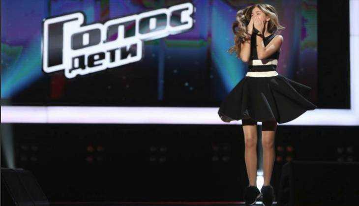 Брянская певица Настя Гладилина стала третьей в телешоу «Голос. Дети»