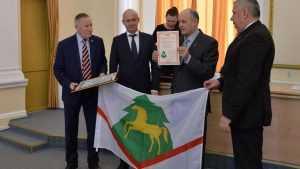 У Брасовского района Брянской области появился свой флаг