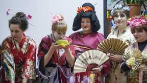 Брянские библиотекари рассказали школьникам о секретах Японии