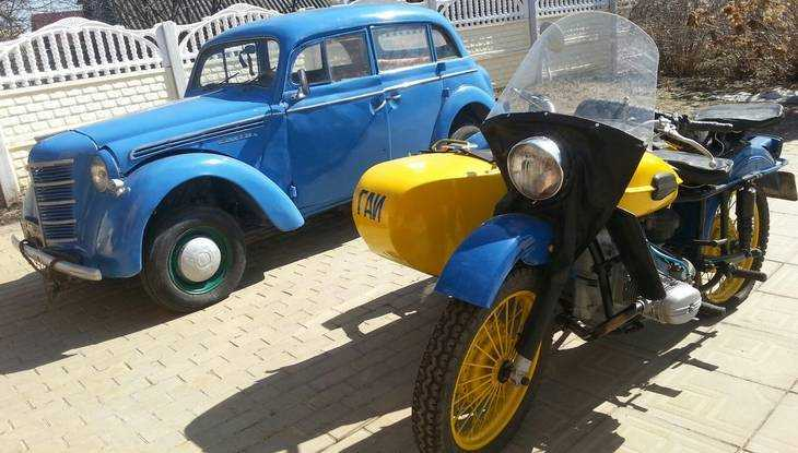 В брянском поселке Суземка пройдёт выставка ретро-автомобилей