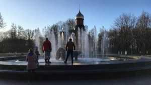 В Брянске на Кургане Бессмертия подготовили к запуску фонтан