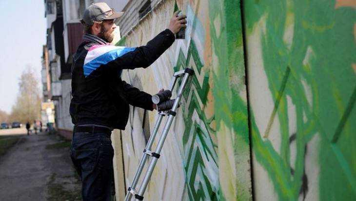 В Фокинском районе Брянска прошел второй граффити-фестиваль