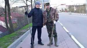 Брянский филиал АО «Россельхозбанк» вышел на субботник