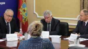 В Брянске помощник полпреда Президента в ЦФО провёл приём граждан
