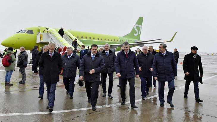 Губернатору представили проект реконструкции аэропорта «Брянск»