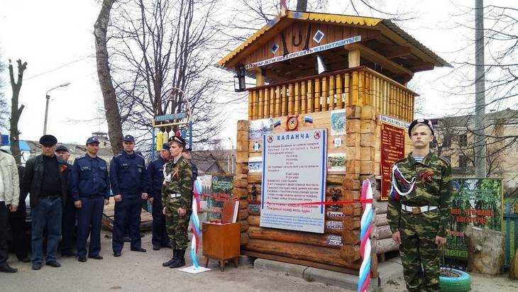 В Почепе торжественно открыли новую пожарную каланчу