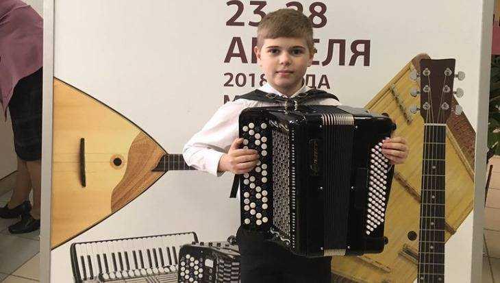 Брянский школьник-баянист победил на конкурсе в Минске