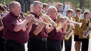 На вокзале Брянск–II духовой оркестр даст концерт ко Дню Победы