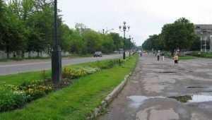 Прокурор велел отремонтировать дорогу в центре Дятькова