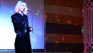 Певица Сергия дала 100-минутный концерт для брянских пограничников