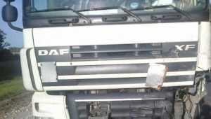 В Клинцовском районе грузовик протаранил четыре автомобиля