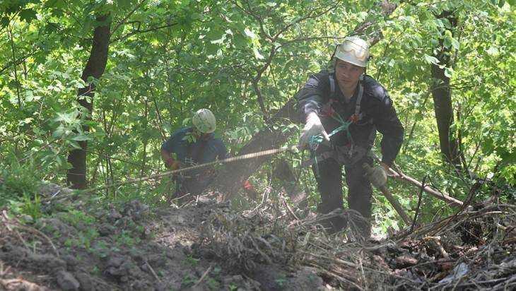 Брянские скалолазы помогли очистить крутые склоны Судков