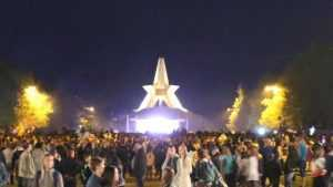 Молодежный концерт на Кургане Бессмертия собрал тысячу жителей Брянска