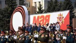 В Брянске партийцы принимают участие в Параде поколений