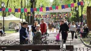 В Брянске 1 мая по традиции открылся новый парковый сезон