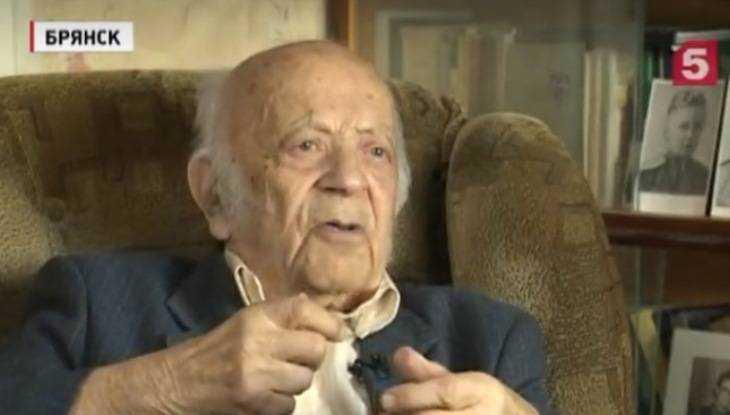 Брянский 101-летний разведчик Хенкин стал героем сюжета «Пятого канала»