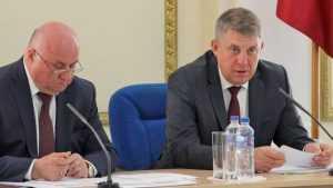Брянский губернатор Богомаз рассказал генералу о газовых долгах