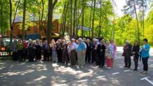 Брянские железнодорожники отпраздновали 9 Мая на Партизанской поляне