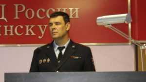 Начальником полиции Брянска стал подполковник Игорь Сударев
