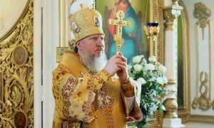 Патриарх Кирилл поздравил Митрополита Брянского Александра с 65-летием