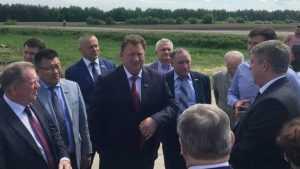 Депутатов Госдумы удивили в Брянской области два поля озимой пшеницы