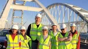 Брянский депутат Валуев завершил съемки в фильме про Крымский мост