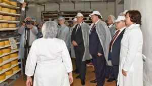 Депутаты Госдумы посетили предприятие «Сыр Стародубский»