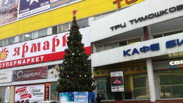 В Брянске с ТРЦ «Тимошковых» сняли скандальный баннер