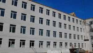 В Брянске возвели четыре этажа пристройки к школе № 59