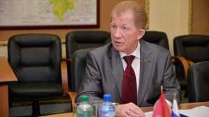 В Брянске главой союза чернобыльцев переизбрали Вячеслава Карнюшина