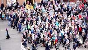 Из-за крестного хода в центре Советского района Брянска перекроют движение