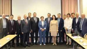 Богомаз встретился с членами Брянского землячества в Петербурге