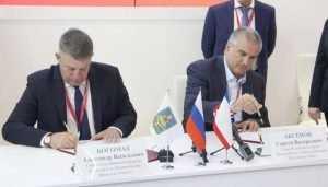 Брянский губернатор и глава Крыма подписали план о сотрудничестве