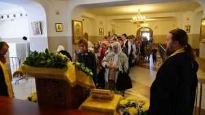 В Брянск привезли ковчег с частицей мощей Святителя Феофана Затворника