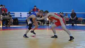 В Брянске прошел чемпионат ЦФО по вольной борьбе