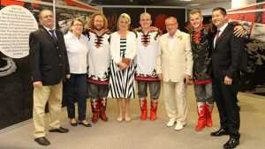 Брянский ансамбль «Бабкины внуки» выступил в Братиславе