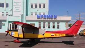 Брянскому аэропорту из областного бюджета выделили 18 миллионов рублей