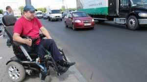 В Брянске велели сделать доступным для инвалидов Московский проспект