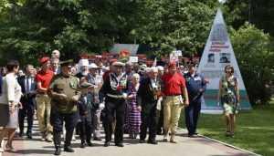 В День партизан и подпольщиков Брянск посетили гости из Прибалтики и ДНР