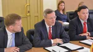 Губернатор Брянской области провёл встречу с немецкой делегацией