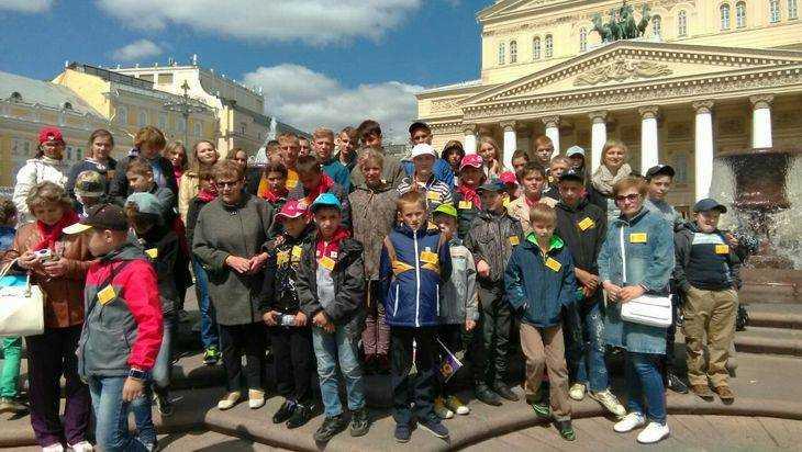 Брянским детям показали Москву