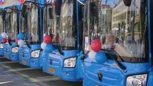 Для Брянска приобрели 25 новых автобусов ЛиАЗ