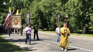 В Локте прошёл Крестный ход, посвящённый Дому Романовых
