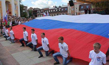 Мэр и глава поздравили жителей Брянска с Днем России