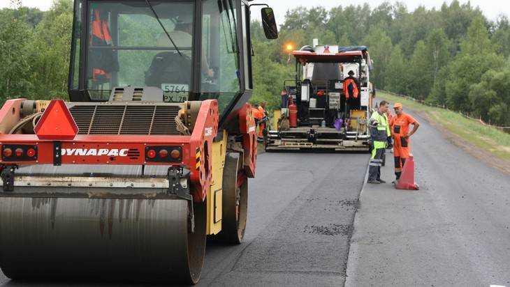 В Брянской области ремонт дорог идет полным ходом